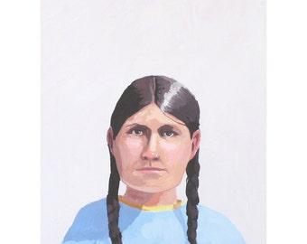 """5x7"""" print - Sacagawea"""