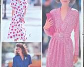 Butterick 3361, Women's' Dress Pattern, Sizes 6, 8, 10, Vintage 1989