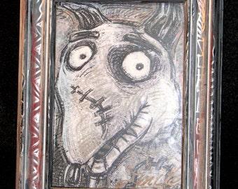 Sparky, Framed Artwork Print