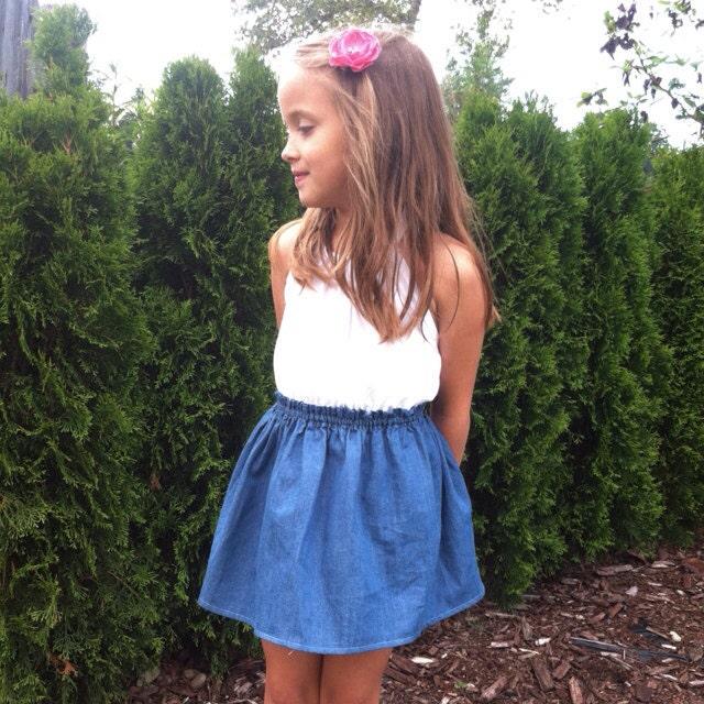 denim skirt toddler denim skirt mini skirt toddler