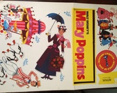 Vintage Mid Century Never Been Used Mary Poppins Paper Dolls
