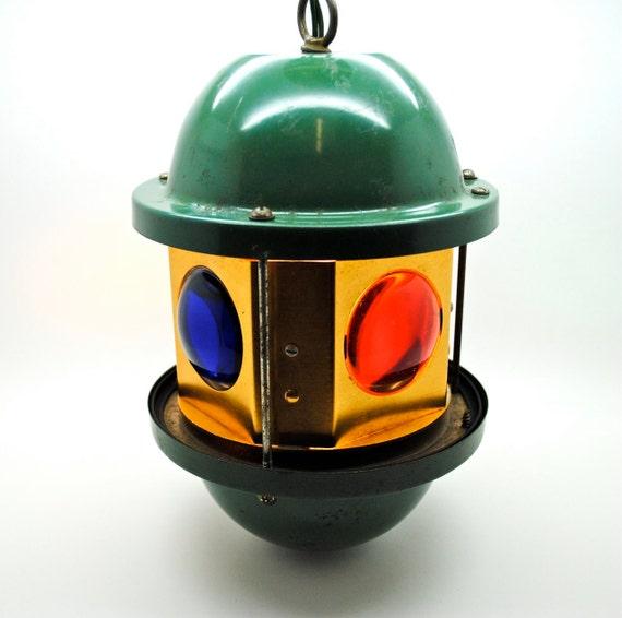Sale Vintage Bar Light Spinning Lamp Vintage Tavern