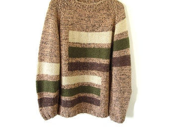 SALE! Handknitted Sweater For Him.