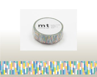 mt BLOCK BLUE Washi Tape (10M)
