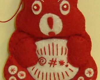 SWEAR Bellie Bear by Tess Wentz of Tess Creates