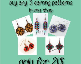 SPECIAL OFFER - 3 patterns for 21USD