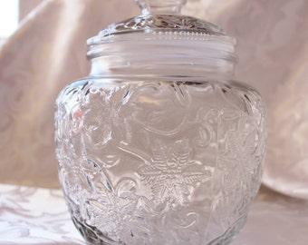 Glass Ginger Jar