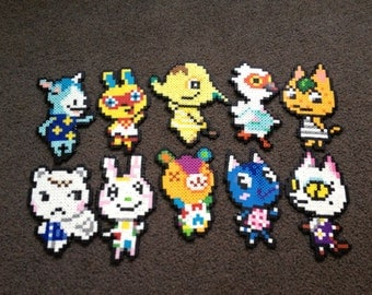 Dream Village - 10 Villager Sprites of YOUR CHOICE - Animal Crossing: New Leaf!