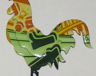 Rooster Magnet -  Arizona Rickey Lemon Lime Soda Can