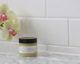 Lavender and Lemongrass Superfine Sugar Facial Scrub