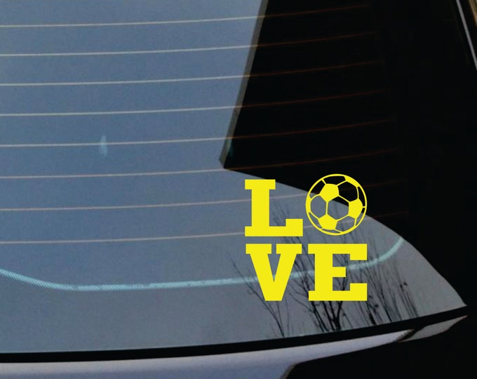 Car Decal - Sports Decal - Small Decal - Car Stickers and Monograms - Small Wall Decals