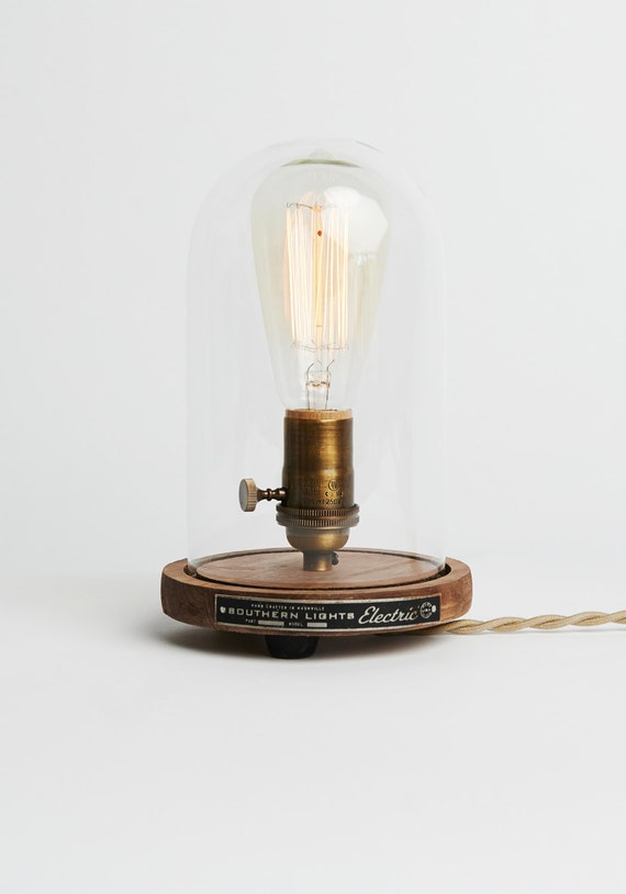 The Original Edison Bell Jar Table Lamp Dome lamp