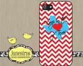 Personalized iPhone 6, iPhone 5/5s and iPhone 4/4s Cell Phone Case - Deep In The Heart Of Texas