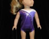 """18"""" Girl Doll Gymnastic Leotard -Replica"""