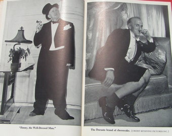 SCHNOZZOLA Story Of Jimmy Durante Biography Book 1951 by Gene Fowler
