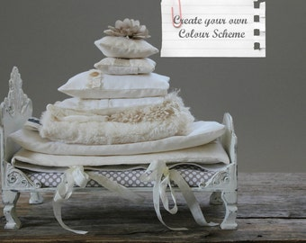 Create your own ~ Custom Bed linens for Dolls.