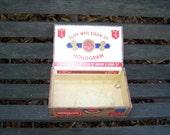 Vintage Cliff Weil Cigar Box c. 1930 to 1940