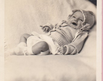 Ca. 1909 Real Photo Postcard w/ Baby - 1567