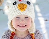 Chicken Hat, PDF Crochet Pattern, photo prop, winter hat, haloween hat, chicken costume, chicken costume, crochet baby hat patterns