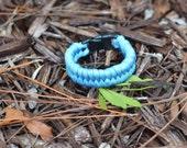 550 Light Blue Paracord Bracelet