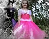Princess Aurora, Sleeping Beauty,  Maleficent Tutu Dress size  12-18m, 18-24m, 2t, 3t, 4t, 5t, 6, 7, 8