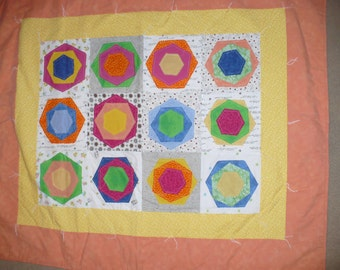 Bright and Fun Posies Quilt