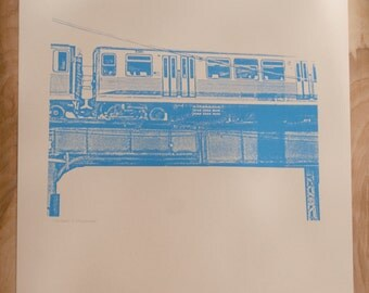 Chicago Blue Line PRINT