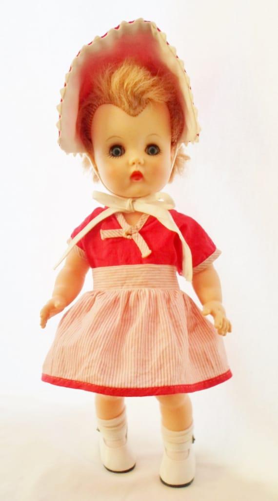 Vintage 1950s Little MIss Kay Kelloggs 12 Doll Short