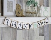 Wedding Thank you Banner, Thank you Banner, Wedding Banner, Thank you Sign, Wedding Sign, Wedding Photo Prop, Wedding Thank you, Thank you