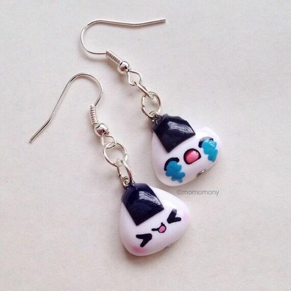Super Cute Onigiri Earrings
