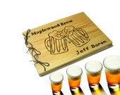 Brew Book  Personalized - Beer Logs Notebook Large