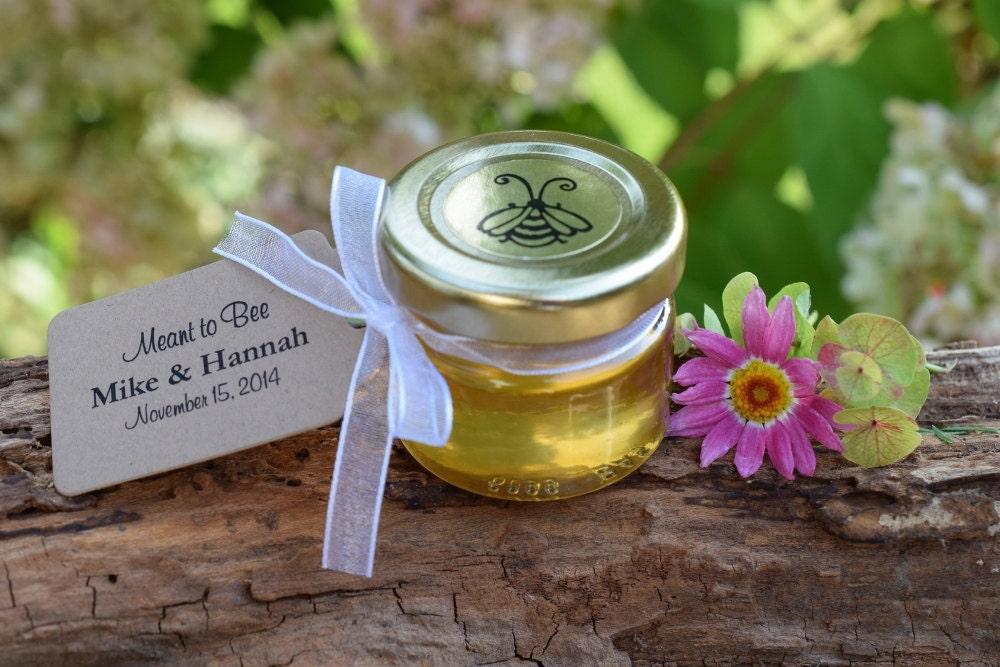 Honey Favors 1 Ounce Jars Honey Wedding Favor Bridal Shower