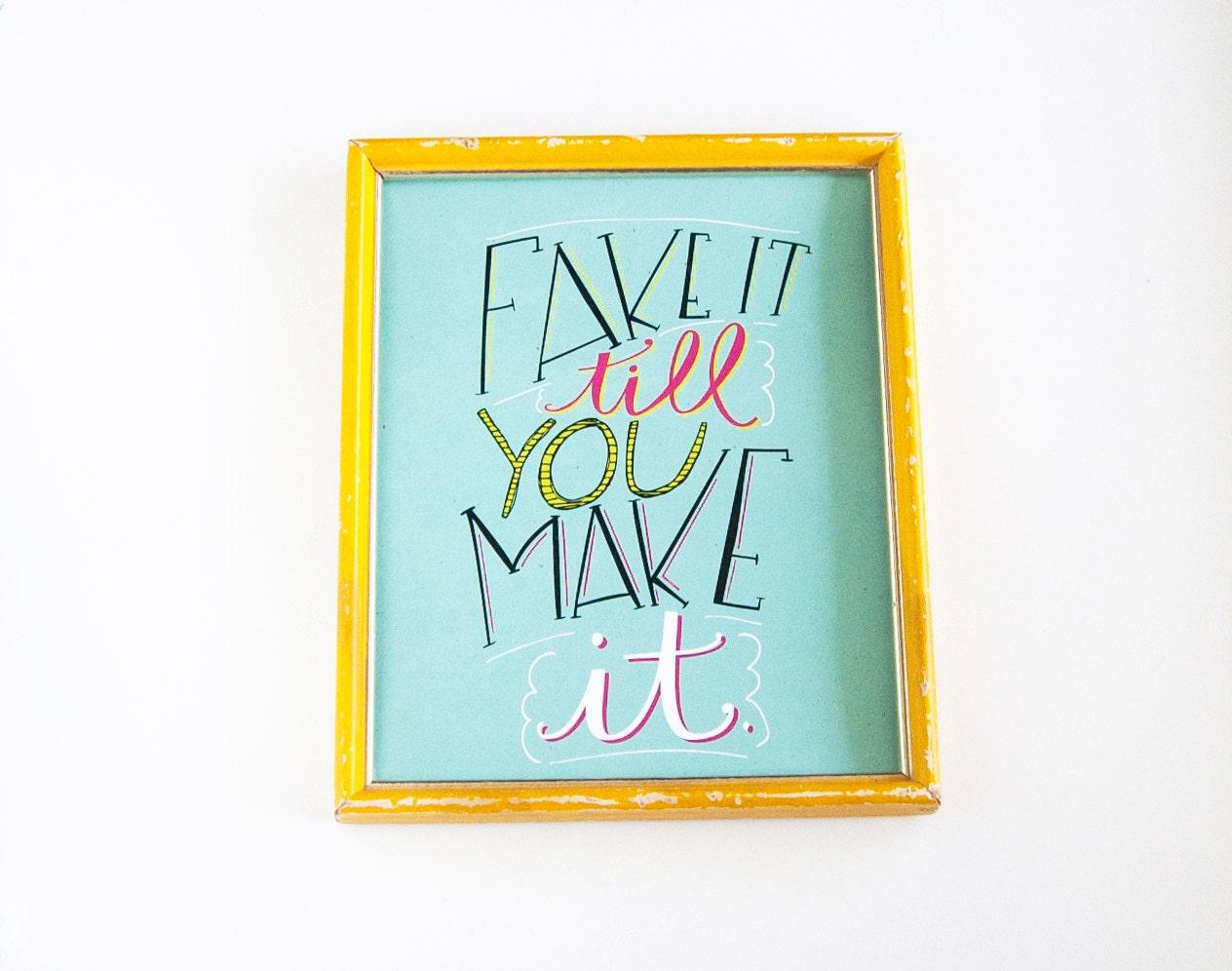 Inspirational wall art print office art motivational by for Inspirational wall art