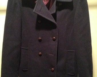 SALE: Vintage Mackintosh Pea Coat