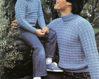Beehive 432 Knit For Your Man Knitting Patterns for Men and Boys Sweaters, Vests, Pullover