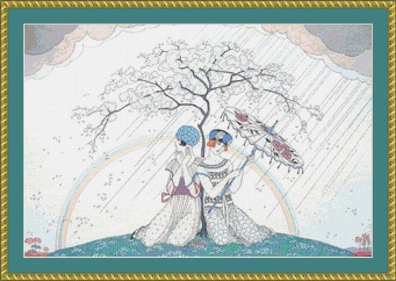 L'Arc En Ciel Cross Stitch Pattern