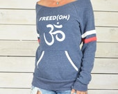FREED(OM)  -  Dancer Neck Sporty Sweatshirt
