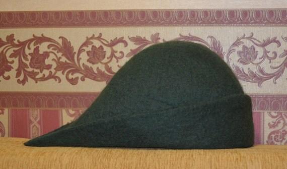 how to make a felt robin hood hat