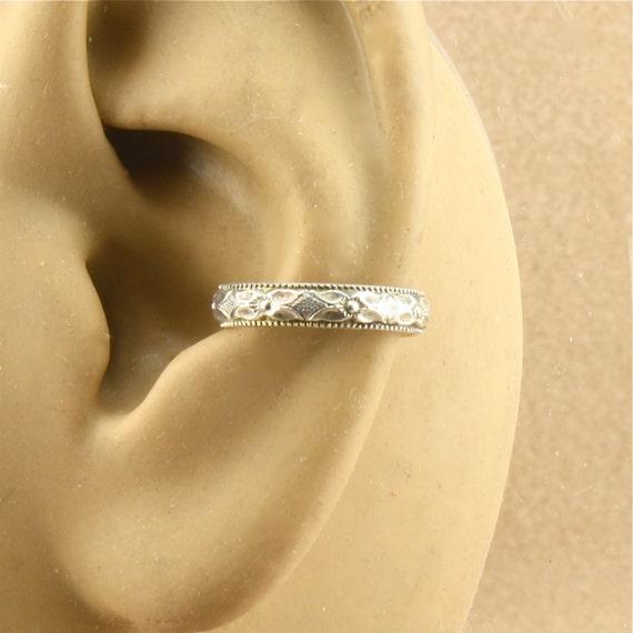 cartilage earring sterling silver ear by adorabellajewelry