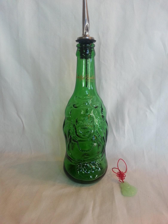 Lucky green buddha dish soap dispenser zen bottle dishsoap Dish soap dispenser