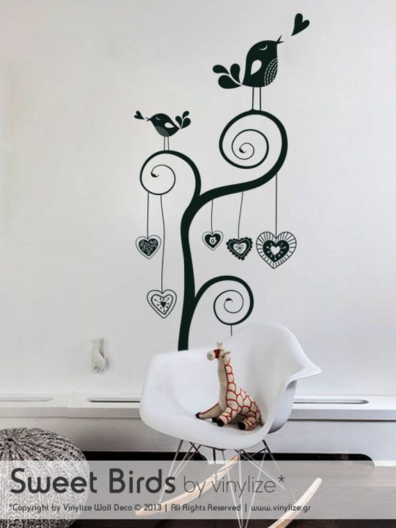 Sweet Birds - Wall Sticker