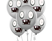 zombies balloons plants vs zombies inspired birthday party decorations