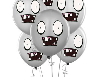 ZOMBIES BALLOONS-  Plants vs Zombies inspired birthday party decorations