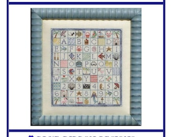 Postcard From Paradise (BRD-052) Cross Stitch Design