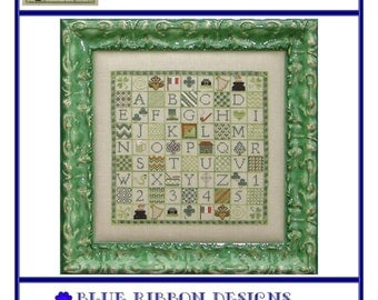 Letters, Leprechauns, and Luck (BRD-065) Cross Stitch Design