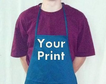 Custom Embroidery Apron Your Logo or Text