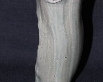 Tri-bottom Vases, Cone 6 Light Blue Glaze