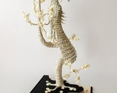Fragile - Book Art - Book Sculpture - Altered Book