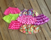 SALE: 0-3 to 12-18 month skirts for over onesies perfect little accessory for those cute infant baby girls