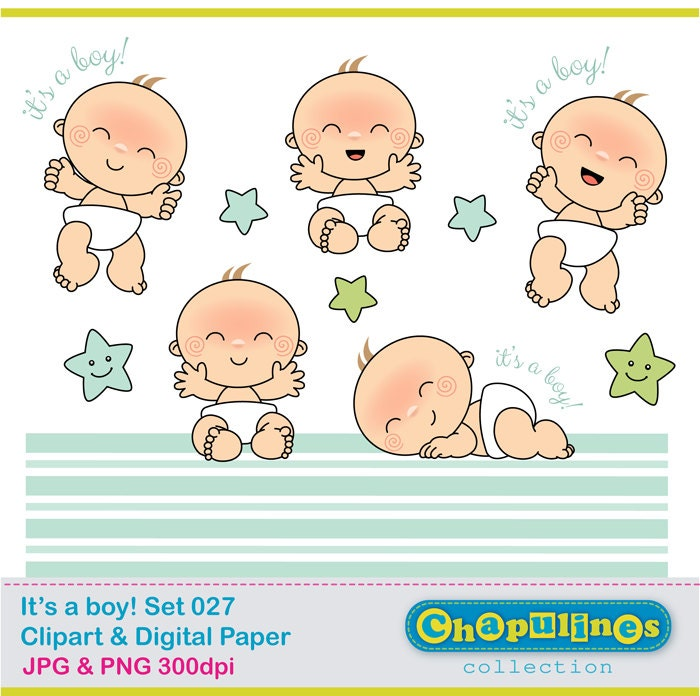 free clipart newborn baby boy - photo #46